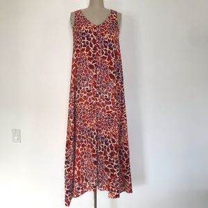 H&M printed Maxi dress size 4
